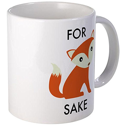 CafePress Fox Sake Unique Coffee