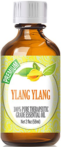 Ylang Ylang (59ml) 100% Pure, Best Therapeutic Grade Essential Oil (Type III) - 59ml / 2 (oz) Ounces by Healing Solutions