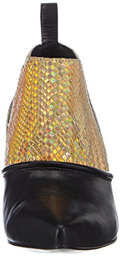 P1 Vancouver - botas bajas de cuero mujer multicolor - Mehrfarbig (black/gold)