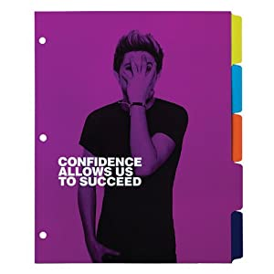 Set of 5 One Direction Tab Dividers by Swinton  Avenue Trading