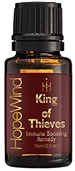 King Of Thieves Essential Oil Blend - 100% Pure Therapeutic grade Unique Formula, Full 15ml/0.5oz - by HopeWind
