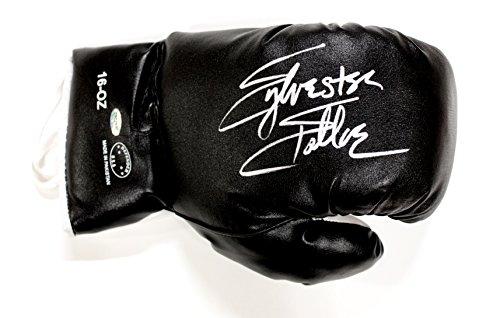 Sylvester Stallone Signed Autographed Defender Black Boxing Glove - Sylvester Black