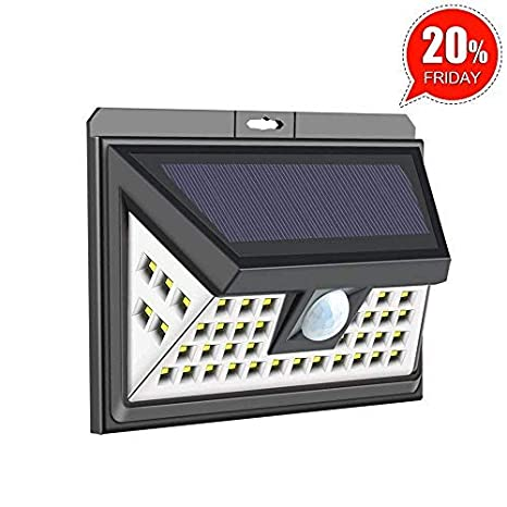 Led Lamps Lower Price with 300w High Bright Solar Powered Led Wall Lights Durable Sconce Lamp For Road Garden Corridor Modern