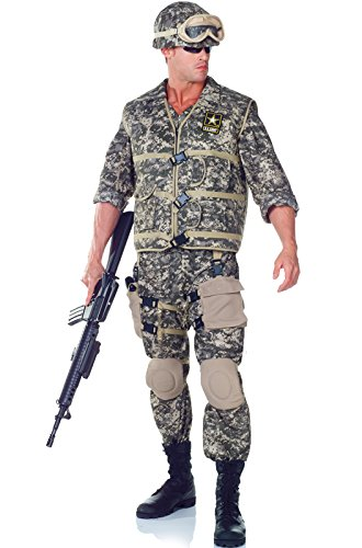 US Army Ranger Deluxe Adult Costume Size 1X-2X (48-50)