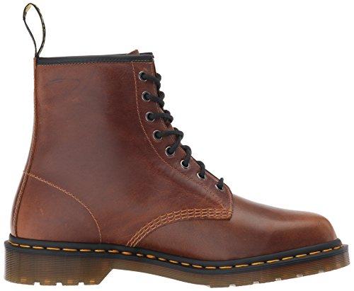 Mens Martens Dr 1460 Leather Marron Boots Eyelet 8 zpcPwx5q