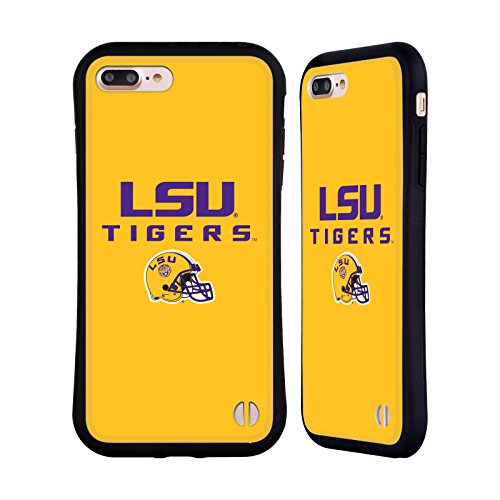 Official Louisiana State University LSU Helmet Logotype Hybrid Case for iPhone 7 Plus/iPhone 8 ()