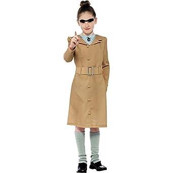 Smiffyu0027s World Book Day Roald Dahl Miss Trunchbull Girls Fancy Dress Costume,  10 12