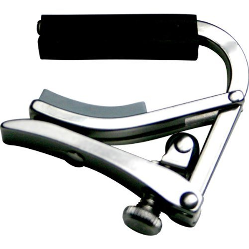 - Stainless Steel Deluxe Banjo Capo