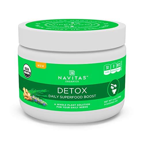 Navitas Organics Daily Superfood Boost, Detox, 4.2 Ounce