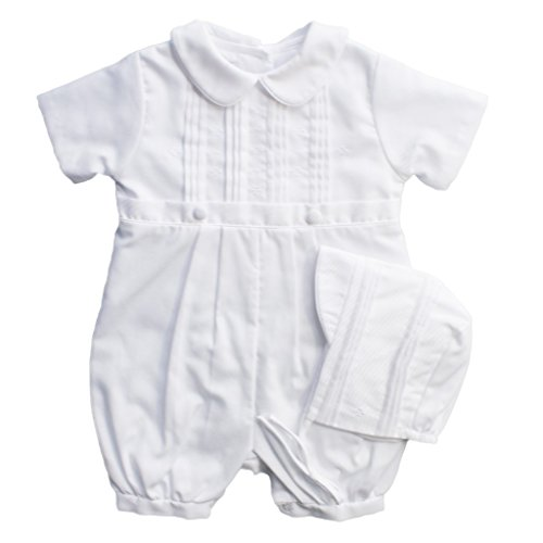 Petit Ami Christening Knicker with Hat 24 Months/2T