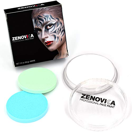 White Professional Face Paint - Large 32 g