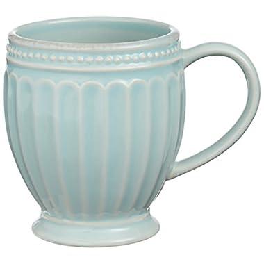 Lenox French Perle Everything Mug, Ice Blue