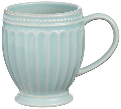 Lenox French Perle Everything Mug, Ice (Lenox Stoneware Mug)