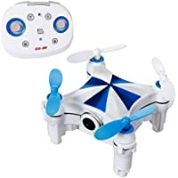 SGILE Rechargeable Mini UFO RC Drone Movement Sensor Romote Control Quadcopter with 0.3MP HD Camera for Boys Kids Children, 6 Axis Quadcopter Drone with 360° Rotation/ Return Home/One Key Mode
