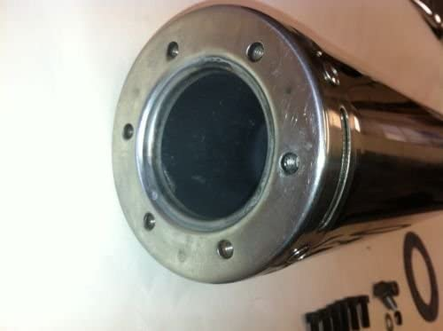 150cc High Performance Muffler 4-Stroke GY6 Engine Stainless Cannister-2461
