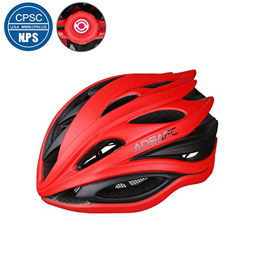 Trekpower ADSAFE Bike Helmet,Mountain Bicycle Helmet with Removable Liner Adjustable Dial and CPSC Safety Certified for Men,Women(22-24.5inches)