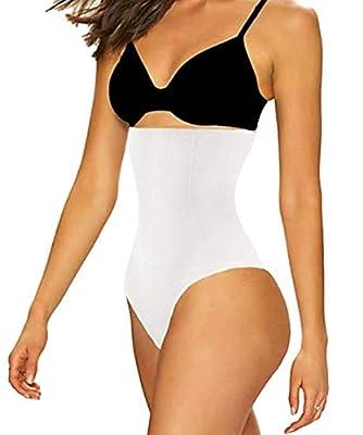 FUT Women Waist Cincher Girdle Tummy Slimmer Sexy Thong Panty Shapewear Postpartum Underwear