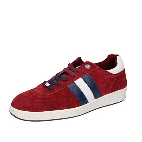 DAcquasparta Sneakers Herren Wildleder (42 EU, Burgund)