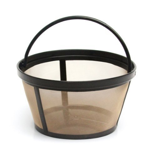 Mr. Coffee GTF2-1 Basket-Style Gold Tone Permanent Filter 10 - 12 cup by Mr. Coffee