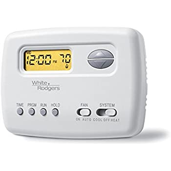 emerson 1f80 361 5 1 1 day programmable thermostat for single stage rh amazon com white-rodgers thermostat instructions 1f80-51 white rodgers thermostat troubleshooting 1f80-51