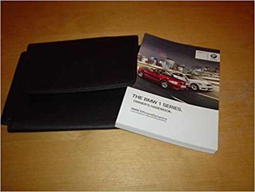 bmw 1 series convertible owners manual