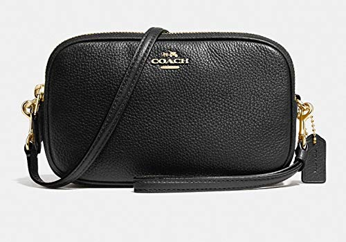 Coach Pebbled Crossbody Clutch, Light ()