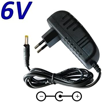 CARGADOR ESP ® Cargador Corriente 6V Reemplazo Tensiometro Omron M3 Comfort, M6 Comfort, M7 Intelli IT M10 IT Recambio Replacement