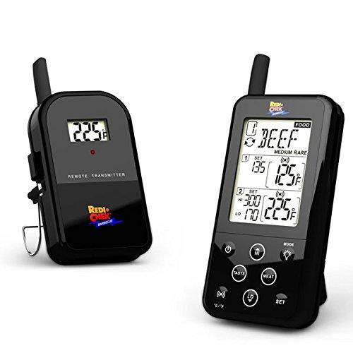 Maverick ET-733 Barbecue Funk-Thermometer Set, Farbe: schwarz