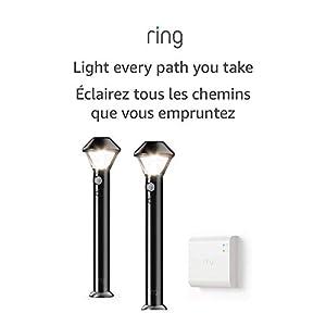 Introducing Ring Smart Lighting – Pathlight, Black (Starter Kit: 2-pack)