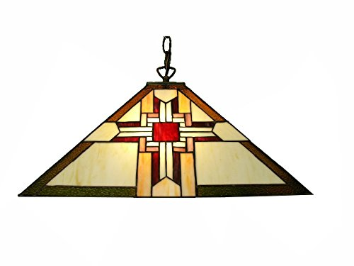 HANGING Mission-Style Light Fixture ()