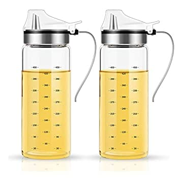 Borosilicate Lead-free Glass Olive Oil Dispenser