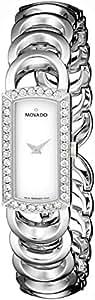 Movado Women's 606007 Rondiro Diamond Accented Stainless-Steel Watch