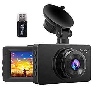 Dash Cam 【2020 Newest】 1080P FHD DVR Car Driving Recorder 3 Inch LCD Screen 170° Wide Angle, G-Sensor, Parking Monitor, Loop Recording, WDR with Night Vision, Motion Detection
