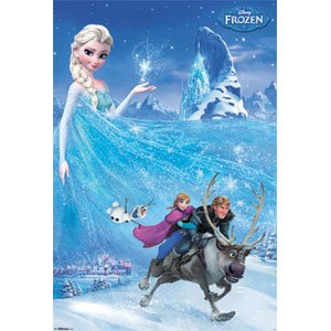 with Frozen Posters & Prints design