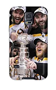 Hot Boston Bruins (61) First Grade Tpu Phone Case For Galaxy S5 Case Cover