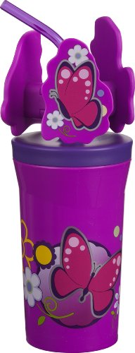 - Trudeau Pirouette Flowers Tumbler, 12-Ounce