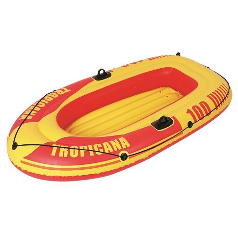 Jilong Tropicana Boat 100 Set - Bote de remos hinchable ...