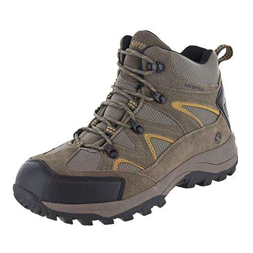 Northside Men's Snohomish Hiking Boot,Tan/Dark Honey,10.5 W US
