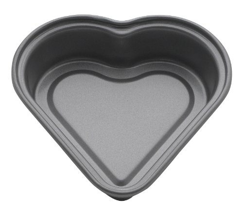 Mrs. Anderson's Baking Non-Stick Mini Heart Pan, 4-1/2-Inch