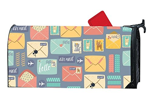 FunnyLife Attractive Mailbox Makeover Pattern Postal Stationery Mailbox Makover Cover Yard,Garden,Outdoor Magnetic