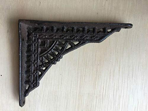 DRD&M Set of 2 Victorian Shelf Bracket Farmhouse | 1 x 5 x 4-Inches CI136