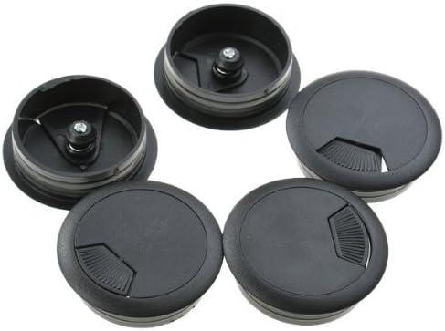 FreshGadgetz mesa de plástico equipo pasacables agujero de la tapa ...