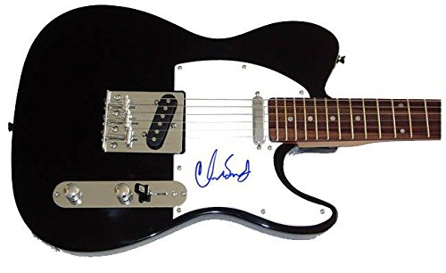 RHCP Chad Smith Autographed Signed Tele Guitar & Proof AFTA AFTAL - PSA/DNA Certified