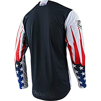 Troy Lee Designs 2020 GP Jersey - Liberty LE (Large) (Navy/White): Automotive