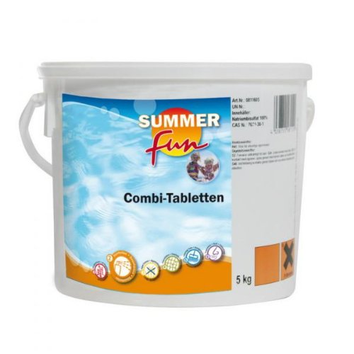 Summer Fun 502010751 Combi Tablette ( Algen, Flock, Chlor ), 5 kg