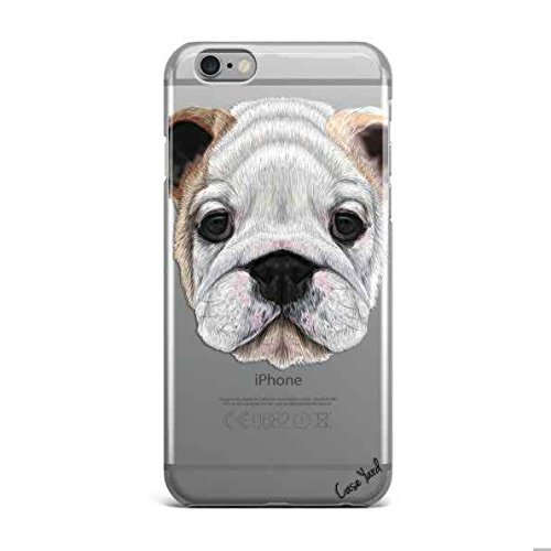 iPhone 7 Clear Case Ultra Thin TPU Cover Protective case for Apple iPhone 7 (Clear) - English Bulldog