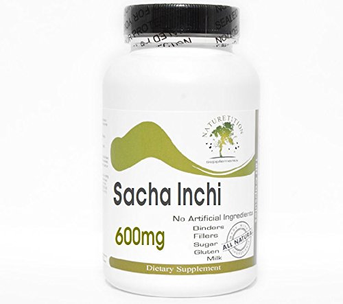 Sacha Inchi 600mg ~ 200 Capsules - No Additives ~ Naturetition Supplements