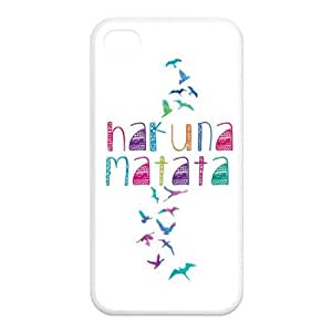 Colorful Free Birds Freedom Hakuna Matata Rubber Cell Phone Cover Case for iPhone 5s Cases