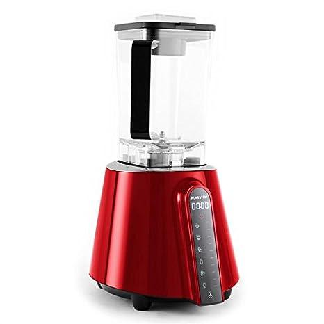 Klarstein 10027868 Batidora de vaso 2L 1680W Rojo - Licuadora (2 L ...