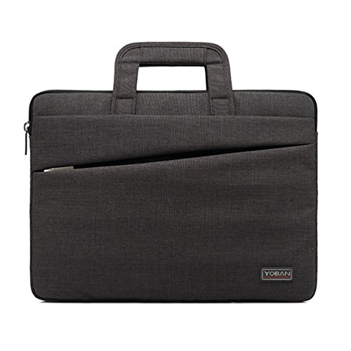 Laptop Bag 14-15 Inch Handle Business Document Bag For Notebook Computer HP Lenovo Samsung Sony And Work,Darkgray,15Inches